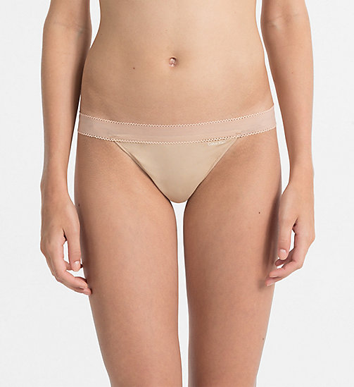 CALVINKLEIN Thong - Icon - BARE - CALVIN KLEIN KNICKERS - main image