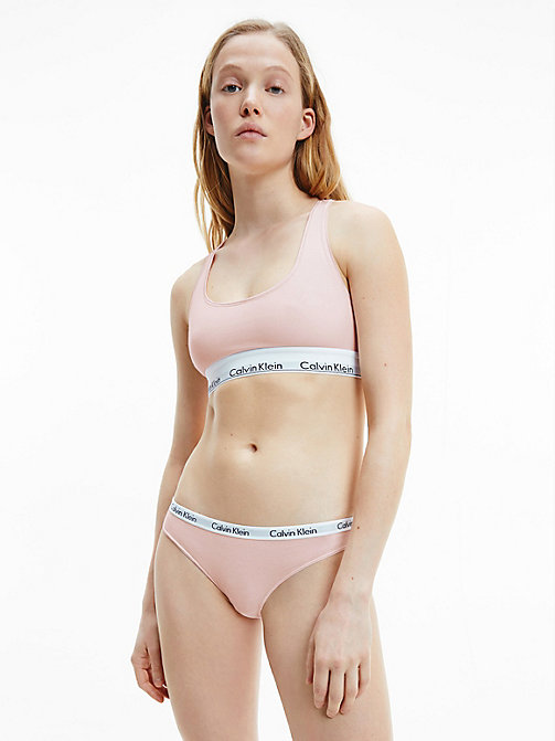 CALVIN KLEIN Bralette - Modern Cotton - NYMPHS THIGH - CALVIN KLEIN NEW FOR WOMEN - detail image 1