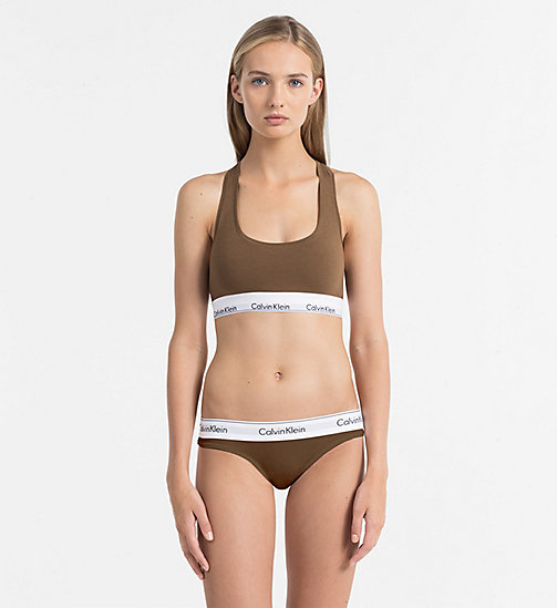 CALVINKLEIN Bralette - Modern Cotton - TUSCAN CLAY - CALVIN KLEIN NEW IN - detail image 1