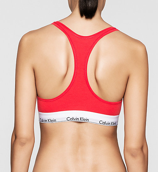 CALVINKLEIN Bustier - Modern Cotton - EVOCATIVE RED (CLASSIC WB) - CALVIN KLEIN BHs - main image 1