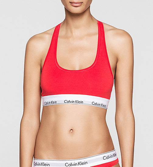 CALVINKLEIN Brassière - Modern Cotton - EVOCATIVE RED (CLASSIC WB) - CALVIN KLEIN SOUTIENS-GORGE - image principale