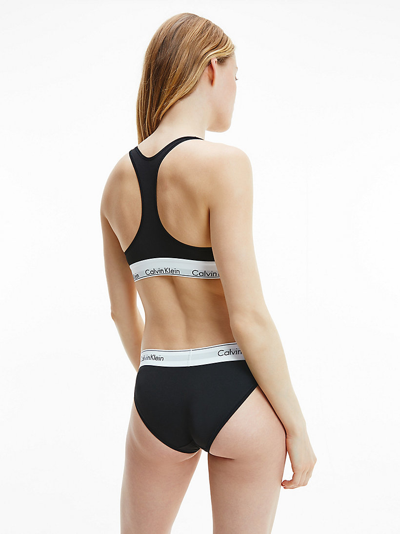 CALVINKLEIN Bikini - Modern Cotton - GREY HEATHER - CALVIN KLEIN UNDERWEAR - detail image 2