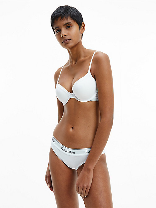 CALVIN KLEIN Bikini Brief - Modern Cotton - WHITE - CALVIN KLEIN KNICKERS - detail image 1
