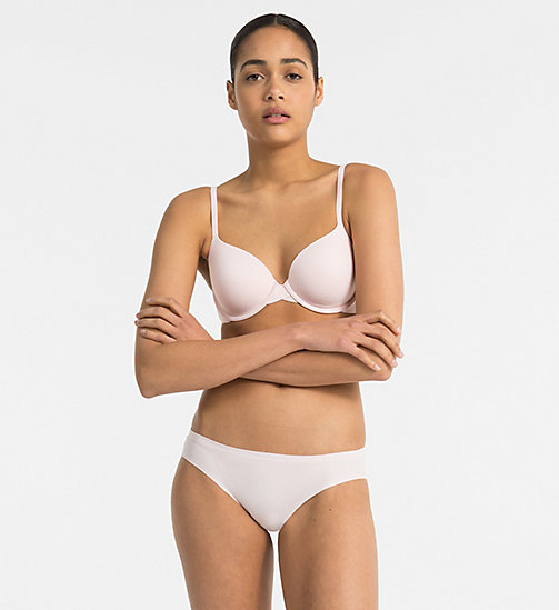 CALVIN KLEIN Demi Bra - Perfectly Fit - NYMPH'S THIGH - CALVIN KLEIN WOMEN - detail image 1