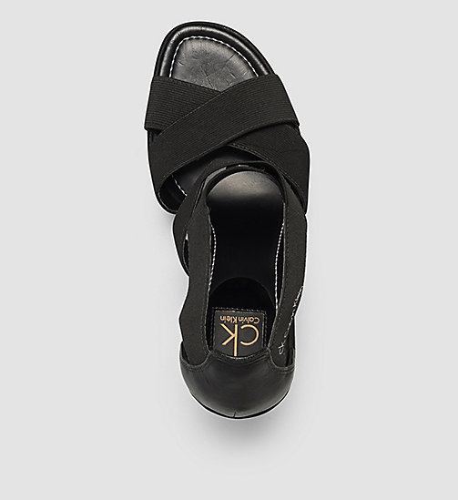 CALVINKLEIN Sandals - BLACK/BLACK - CALVIN KLEIN SHOES - detail image 1