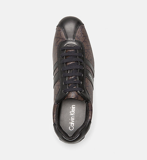CALVINKLEIN Logo Sneakers - GREY/CHOCOLATE/BLACK - CALVIN KLEIN BAGS & ACCESSORIES - detail image 1