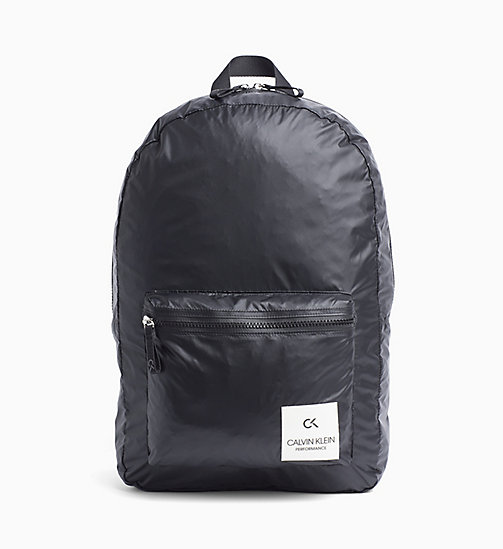 CALVINKLEIN Backpack - BLACK - CALVIN KLEIN SPORT - main image