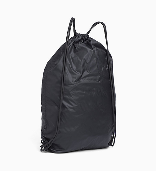 CALVINKLEIN Drawstring Backpack - BLACK -  SPORT - detail image 1