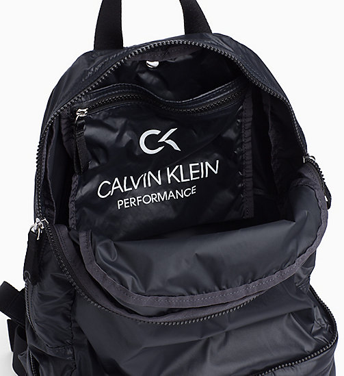 CALVINKLEIN Logo Backpack - BLACK - CALVIN KLEIN SPORTS SOCKS & ACCESSORIES - detail image 1