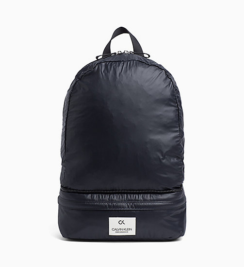 CALVINKLEIN Logo Backpack - BLACK - CALVIN KLEIN SPORTS SOCKS & ACCESSORIES - main image