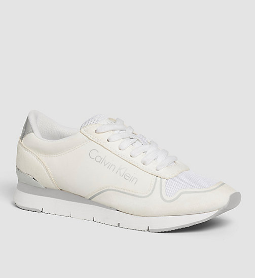 CALVIN KLEIN JEANS Sneakers - BLACK/WHITE/WHITE - CALVIN KLEIN JEANS TRAINERS - main image