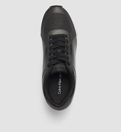 CALVIN KLEIN JEANS Sneakers - BLACK/PEWTER - CALVIN KLEIN JEANS SHOES - detail image 1