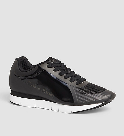 CALVIN KLEIN JEANS Sneakers - BLACK/PEWTER - CALVIN KLEIN JEANS SHOES - main image