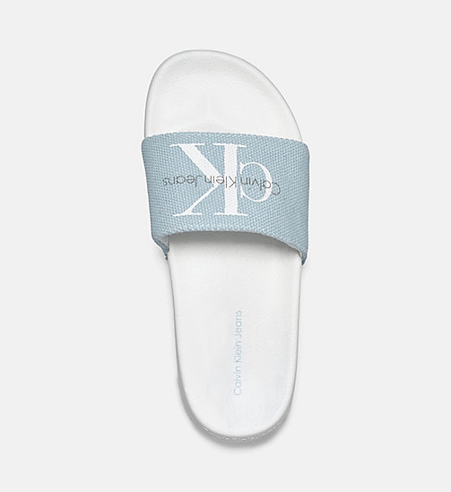 CALVIN KLEIN JEANS Canvas slippers - BLACK/CHAMBRAY - CALVIN KLEIN JEANS SLIPPERS - detail image 1