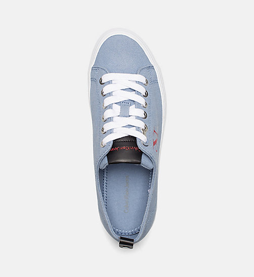 CALVIN KLEIN JEANS Denim Sneakers - LIGHT BLUE - CALVIN KLEIN JEANS BLUES MASTER - detail image 1