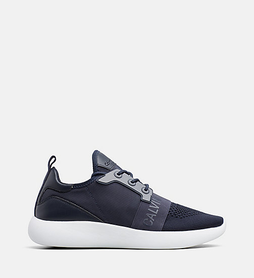 CALVIN KLEIN JEANS Knit Sneakers - NAVY - CALVIN KLEIN JEANS TRAINERS - main image