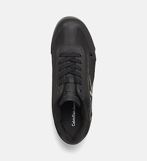 CALVIN KLEIN JEANS Matte Sneakers - BLACK - CALVIN KLEIN JEANS SHOES & ACCESSORIES - detail image 1