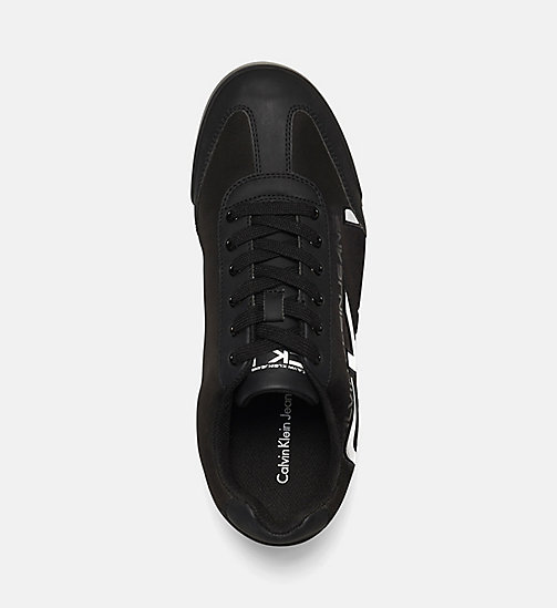 CALVIN KLEIN JEANS Matte Sneakers - BLACK/BLACK-WHITE - CALVIN KLEIN JEANS TRAINERS - detail image 1
