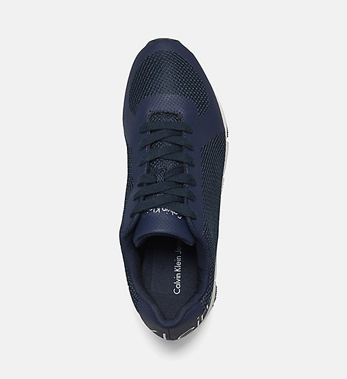 CALVIN KLEIN JEANS Mesh Sneakers - BLACK/NAVY - CALVIN KLEIN JEANS TRAINERS - detail image 1