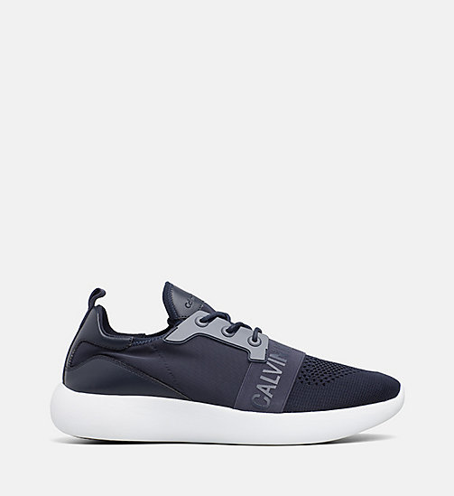 CALVIN KLEIN JEANS Knit Trainers - NAVY - CALVIN KLEIN JEANS TRAINERS - main image
