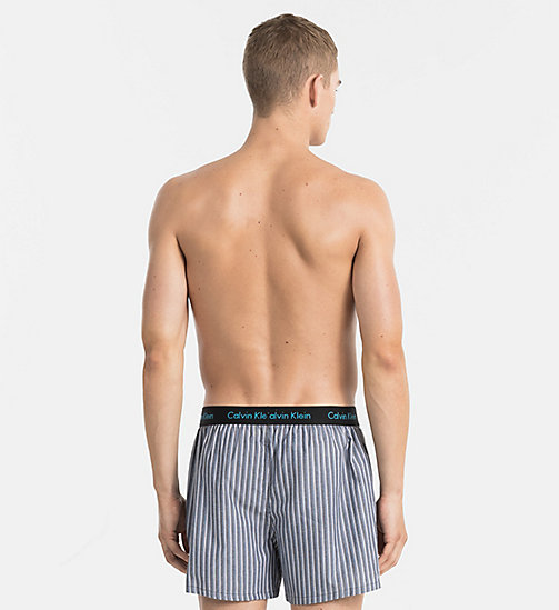 CALVINKLEIN Slim Fit Boxers - TRIPLE SKINNY STRIPE BLACK -  UNDERWEAR - detail image 1