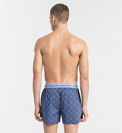 CALVINKLEIN Slim Fit Boxers - STRUCTURED PRINT MAGESTIC - CALVIN KLEIN BOXERS - detail image 1