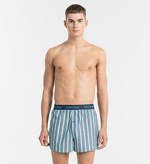 CALVINKLEIN Slim Fit Boxers - BOAT STRIPE INTUITION - CALVIN KLEIN BOXERS - main image
