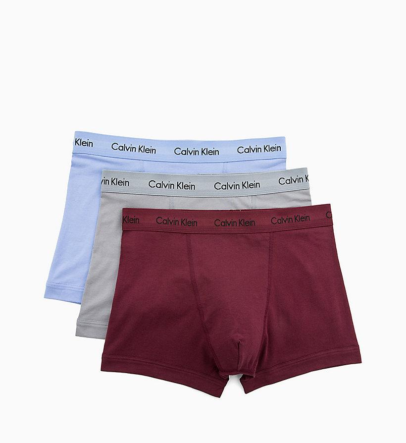 CALVIN KLEIN Boxer aderenti in confezione da 3 - Cotton Stretch - BLACK    WHITE   9ed1cbe628