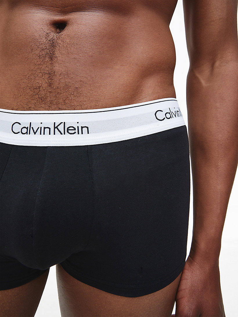 CALVINKLEIN 3er-Pack Hüft-Shorts - Cotton Stretch - BLACK - CALVIN KLEIN Unterwäsche - main image 3