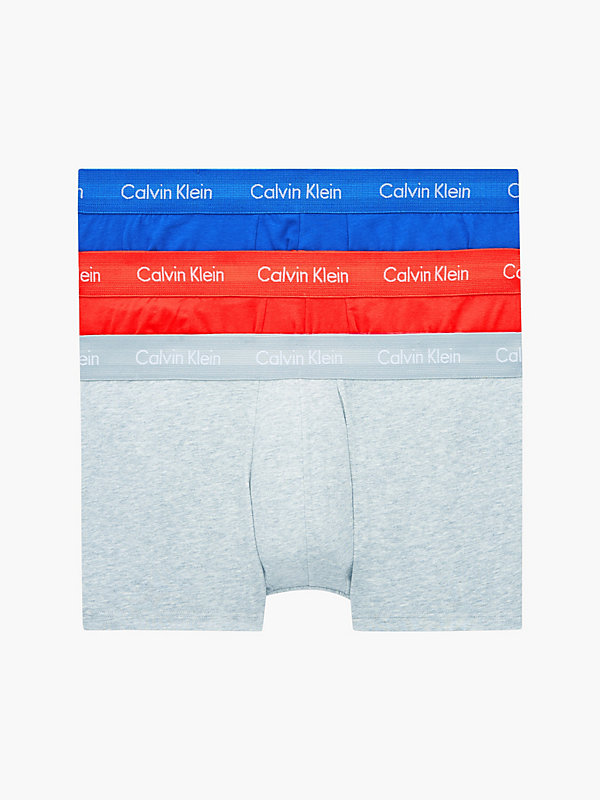CALVIN KLEIN  - STARK ORANGE/ INEZ BLUE/ HEATH GREY -   - main image