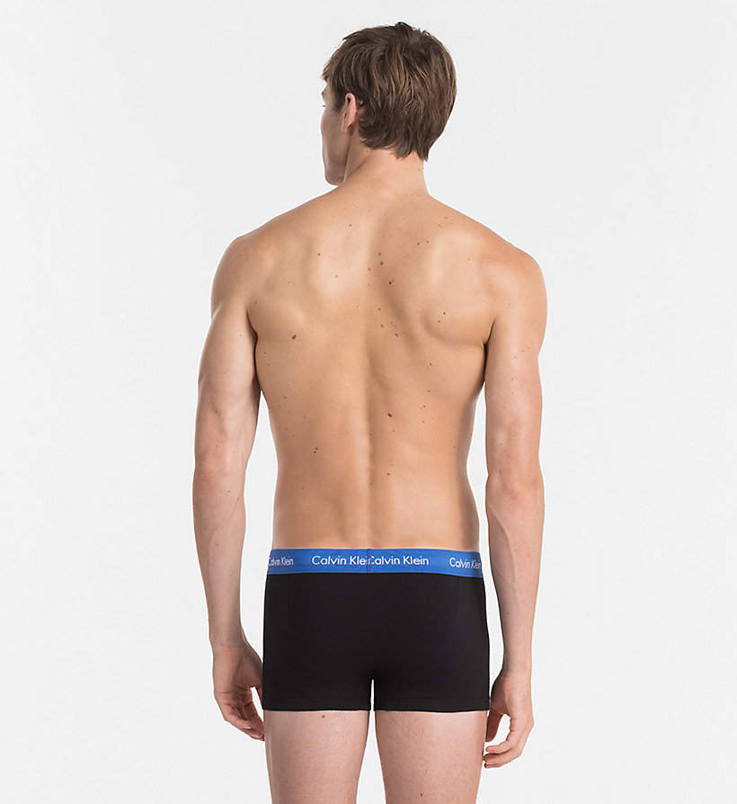CALVINKLEIN 3er-Pack Hüft-Shorts - Cotton Stretch - BLACK W/ GENOA/ BLACK W/ RED HEAT/ BLACK - CALVIN KLEIN Unterwäsche - main image 2