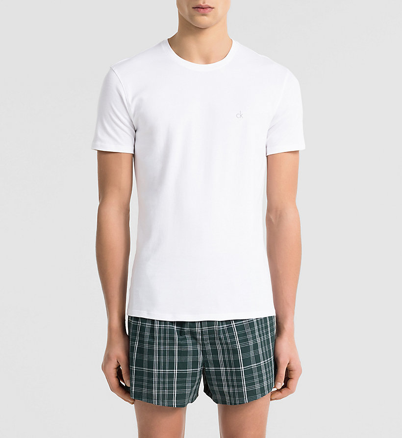 CALVINKLEIN T-shirt - Liquid Cotton - MICRO CHIP - CALVIN KLEIN UNDERWEAR - main image