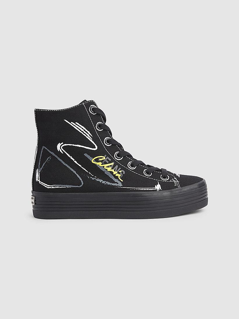 Canvas high top sneakers CALVIN KLEIN® | 000B4R0888001