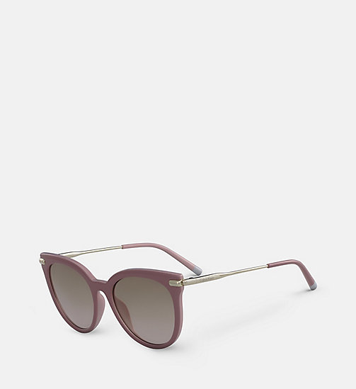 CALVINKLEIN Cat Eye Sunglasses CK3206S - ANTIQUE ROSE -  HEAT WAVE - detail image 1