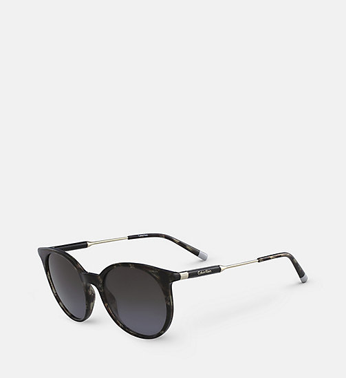 CALVINKLEIN Oversized Sunglasses CK3208S - GREY HAVANA -  SUNGLASSES - detail image 1