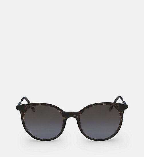 CALVINKLEIN Oversized Sunglasses CK3208S - GREY HAVANA -  SUNGLASSES - main image