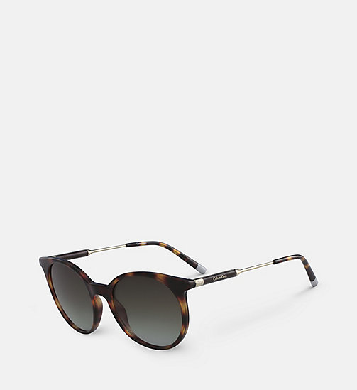 CALVINKLEIN Oversized Sunglasses CK3208S - TORTOISE - CALVIN KLEIN SHOES & ACCESORIES - detail image 1