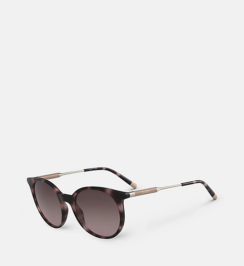 CALVINKLEIN Oversized Sunglasses CK3208S - ROSE HAVANA - CALVIN KLEIN SHOES & ACCESORIES - detail image 1