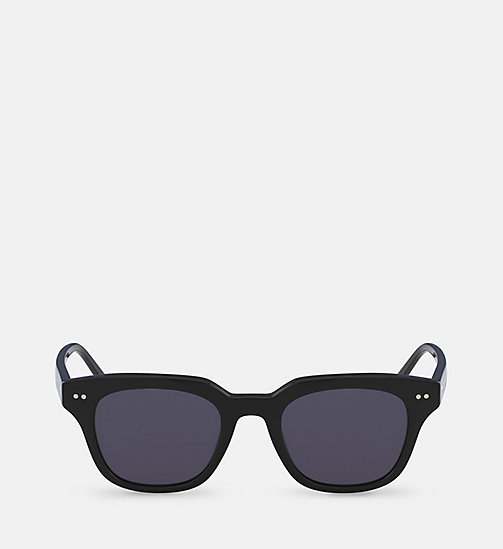 CALVINKLEIN Rectangle Sunglasses CK4353S - BLACK - CALVIN KLEIN SHOES & ACCESSORIES - main image