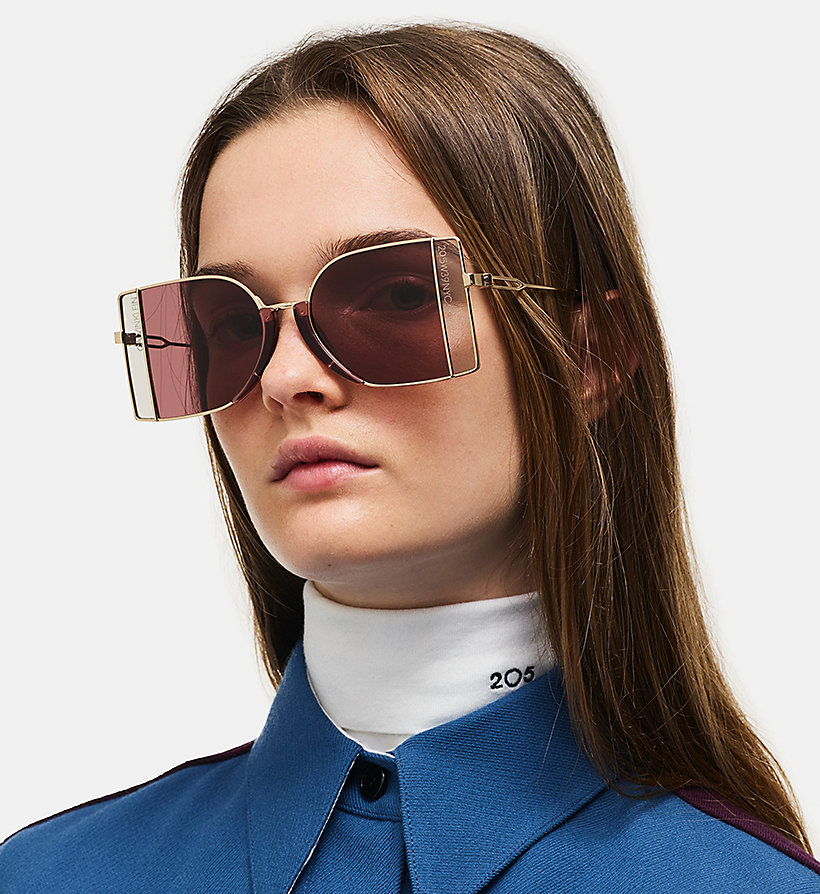 205W39NYC Window Pane Sunglasses - NICKEL/CHROME - 205W39NYC WOMEN - detail image 3
