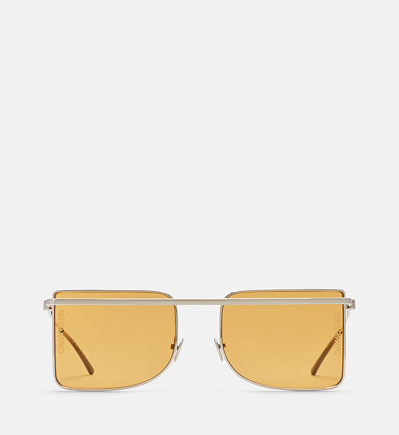 205W39NYC Deco Brow Bar Sunglasses - LIGHT GOLD/ANT GOLD - 205W39NYC WOMEN - main image