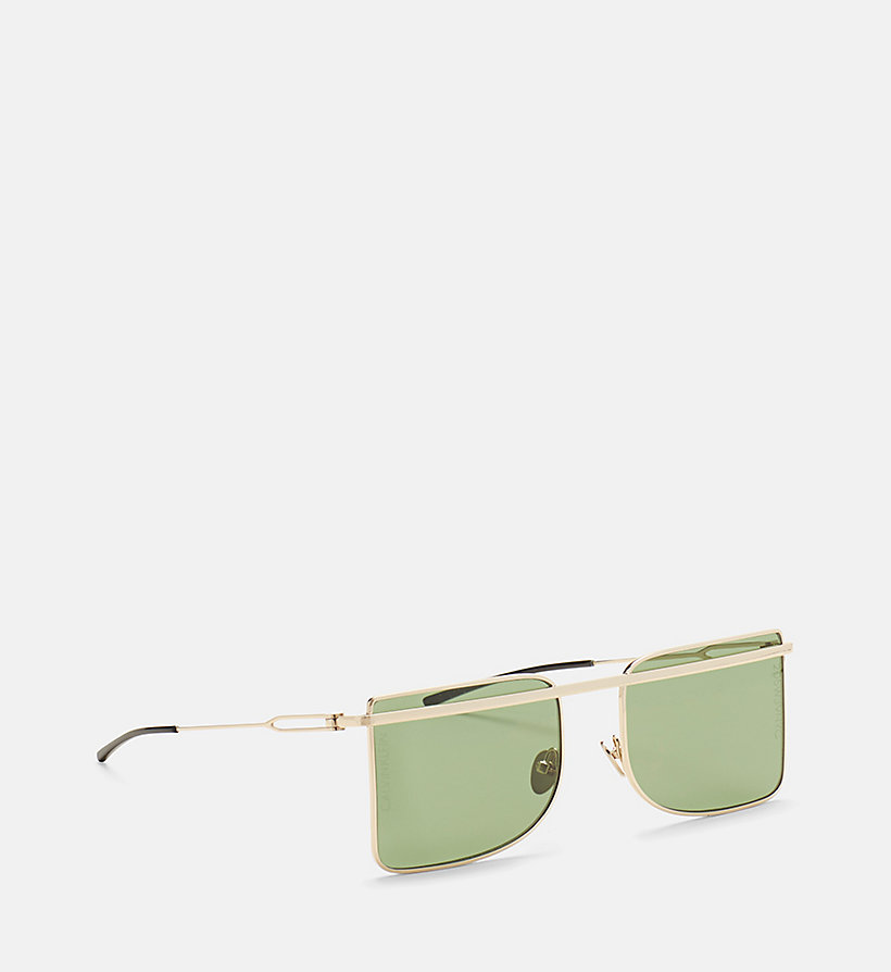 205W39NYC Deco Brow Bar Sunglasses - SILVER/CHROME - 205W39NYC WOMEN - detail image 2