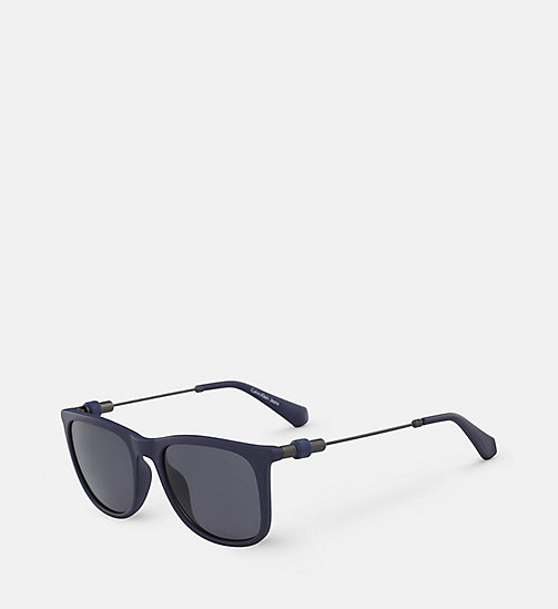 CALVIN KLEIN JEANS Square Sunglasses CKJ507S - MATTE NAVY -  ACCESSORIES - detail image 1