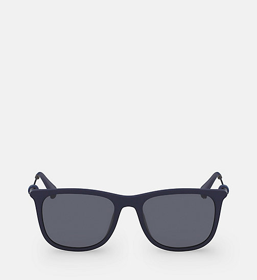 CALVIN KLEIN JEANS Square Sunglasses CKJ507S - MATTE NAVY -  ACCESSORIES - main image