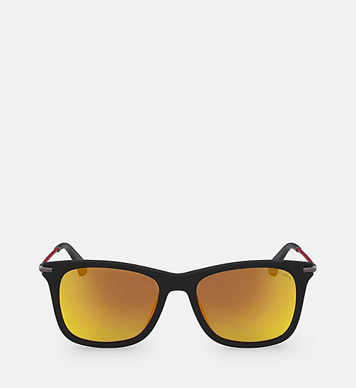CALVIN KLEIN JEANS Rectangle Sunglasses CKJ512S - WARM TORTOISE - CALVIN KLEIN JEANS SUNGLASSES - main image