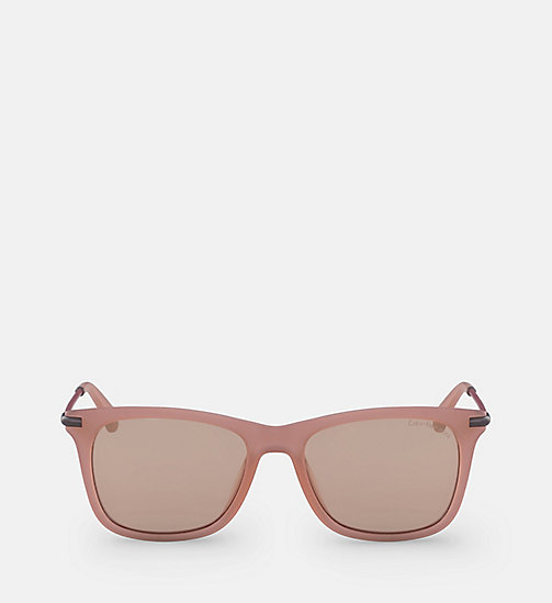 CALVIN KLEIN JEANS Rectangle Sunglasses CKJ512S - MATTE CRYSTAL DUSK - CALVIN KLEIN JEANS SUNGLASSES - main image
