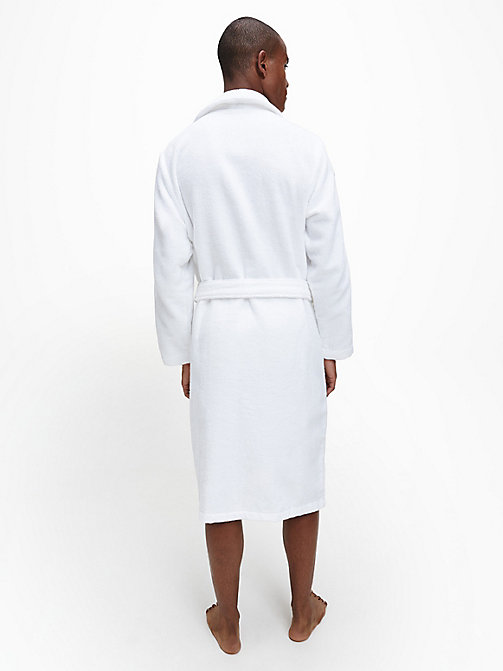 CALVIN KLEIN Bathrobe - WHITE - CALVIN KLEIN ALL GIFTS - detail image 1
