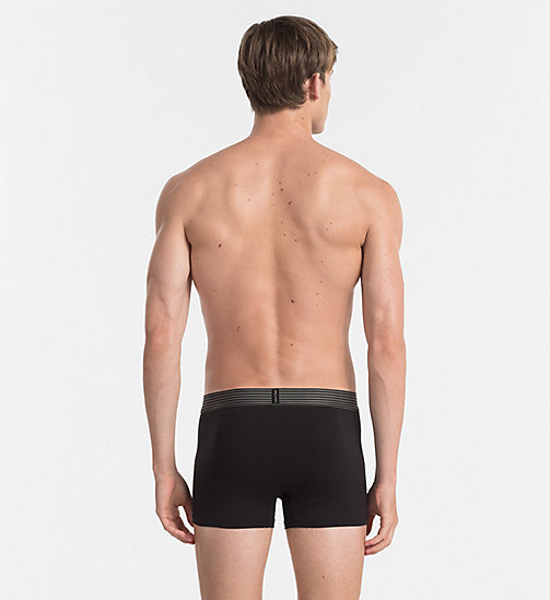 CALVINKLEIN Trunks - Iron Strength - BLACK - CALVIN KLEIN UNDERWEAR - detail image 1