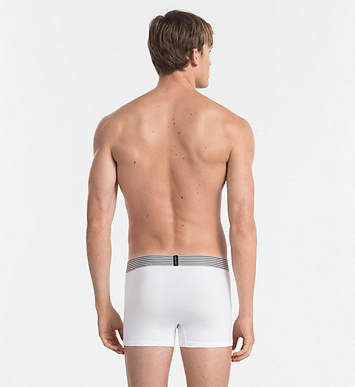 CALVINKLEIN Trunks - Iron Strength - WHITE - CALVIN KLEIN UNDERWEAR - detail image 1