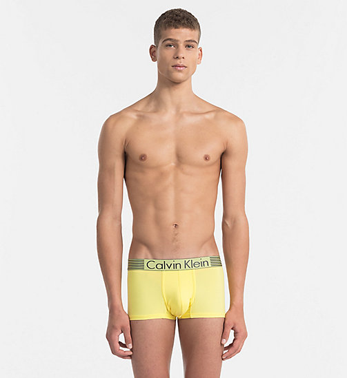 CALVINKLEIN Low Rise Trunks - Iron Strength - SUNBEAM -  Bright Colours - main image